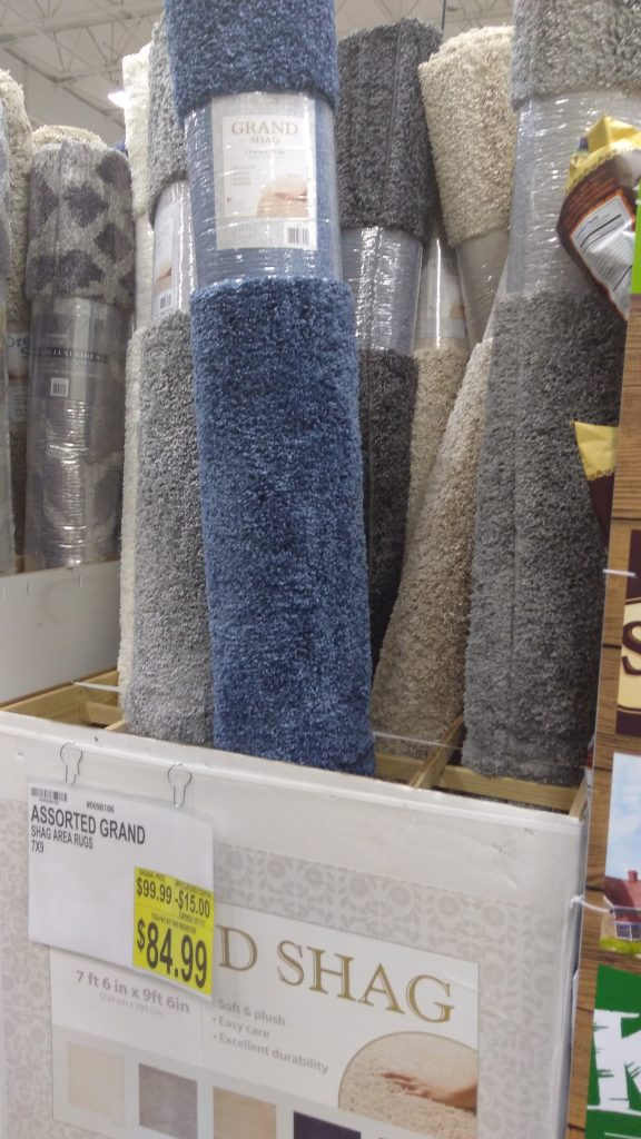 area rugs deal and price at BJs wholesale club