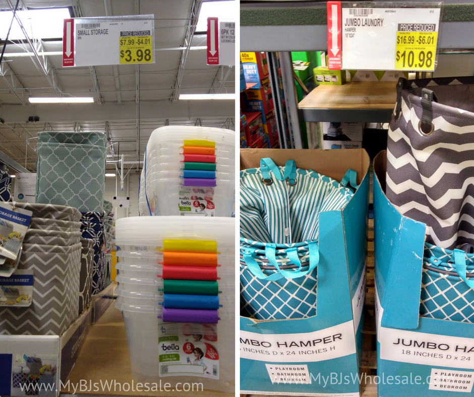 BJs wholesale club clearance markdowns for September