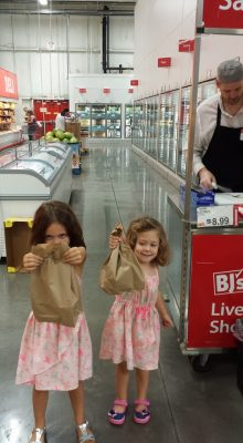 Free brown bag lunch sample at BJs this weekend