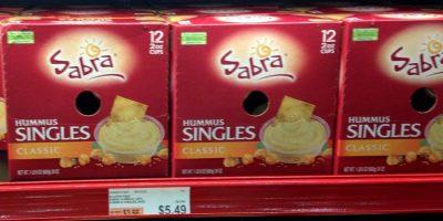 sabra hummus deal at BJs wholesale club