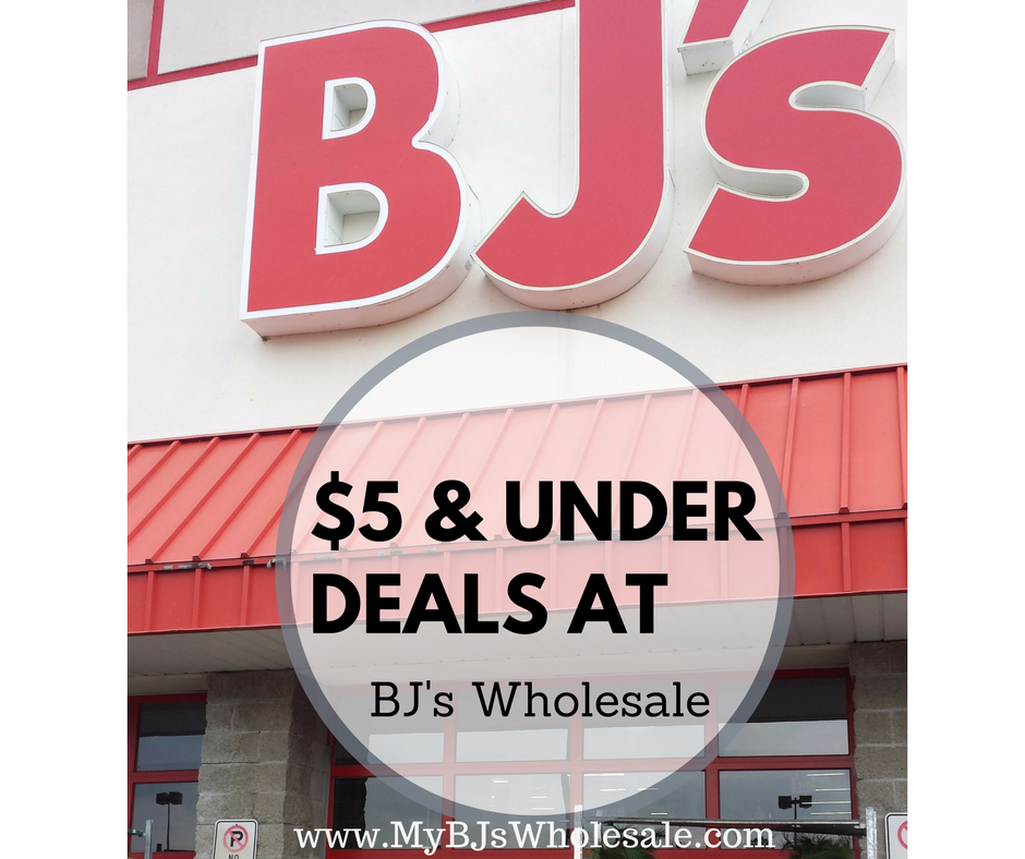cheap finds at BJs wholesale club this month