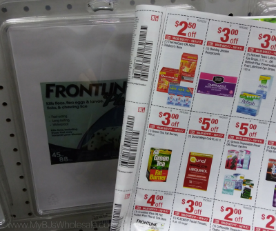 Frontline for dogs and cats price at BJs