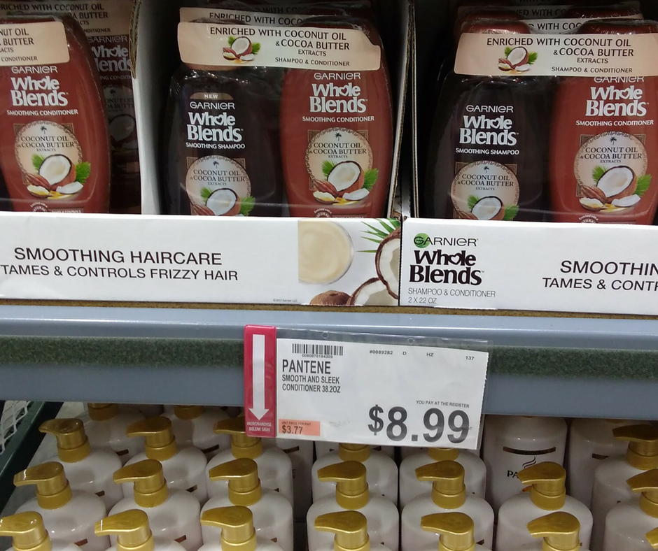 Garnier whole blends shampoo conditioner price and deal at BJs Wholesale