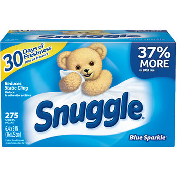 snuggle dryer sheets deal at BJs