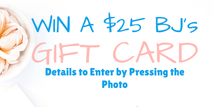 Win a $25 BJs gift card every week from MyBjswholesale