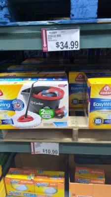 o-cedar easy mop kit deal at BJs