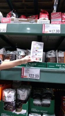 starbucks coupon and deal price at BJs wholesale club