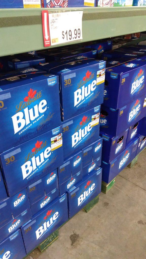 labatt blue prices and deal at BJs wholesale club beer
