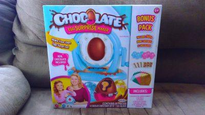 Chocolate surprise egg maker