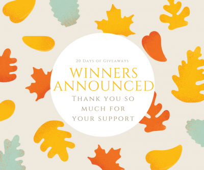 winners announced for giveaway