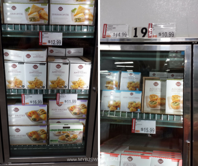appetizers to buy at BJs wholesale club