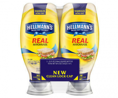 hellmann's squeeze mayo at Bjs club monthly coupon book