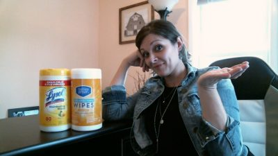 Wondering how the Berkley Jensen (BJ's ) brand disinfecting wipes work? Check out this review on the BJs brand wipes compared to Lysol Wipes. #compare #reviews #BJswholesale #mybjswholesale