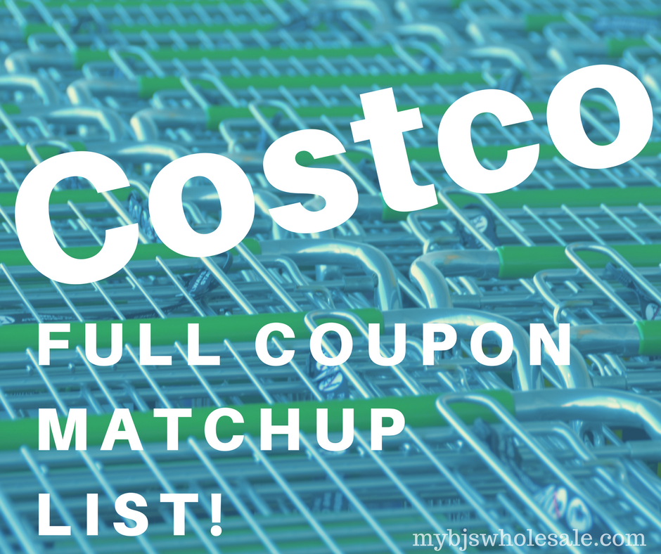 Costco S Monthly Deal List Apr 19 May 13 Compare To Bj S