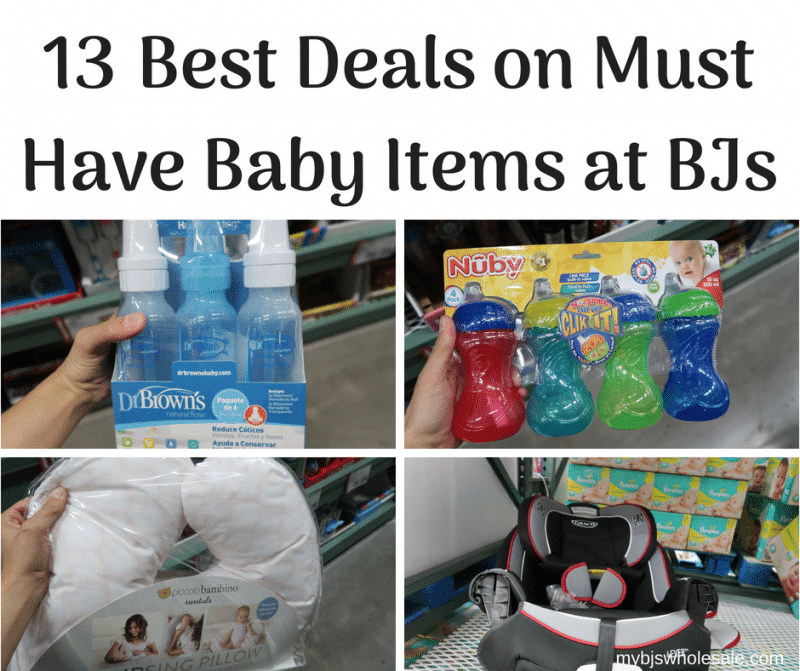 13 Best Deals On Must Have Baby Items At Bjs My Bjs Wholesale Club