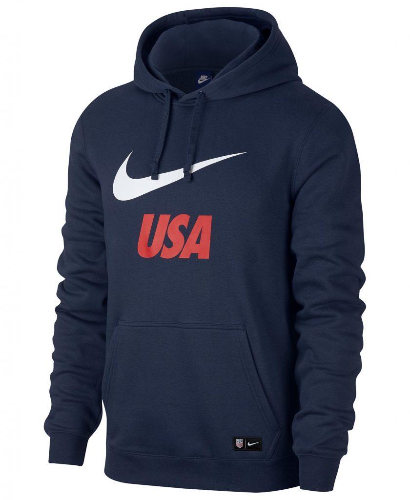 nike mens fleece hoodie