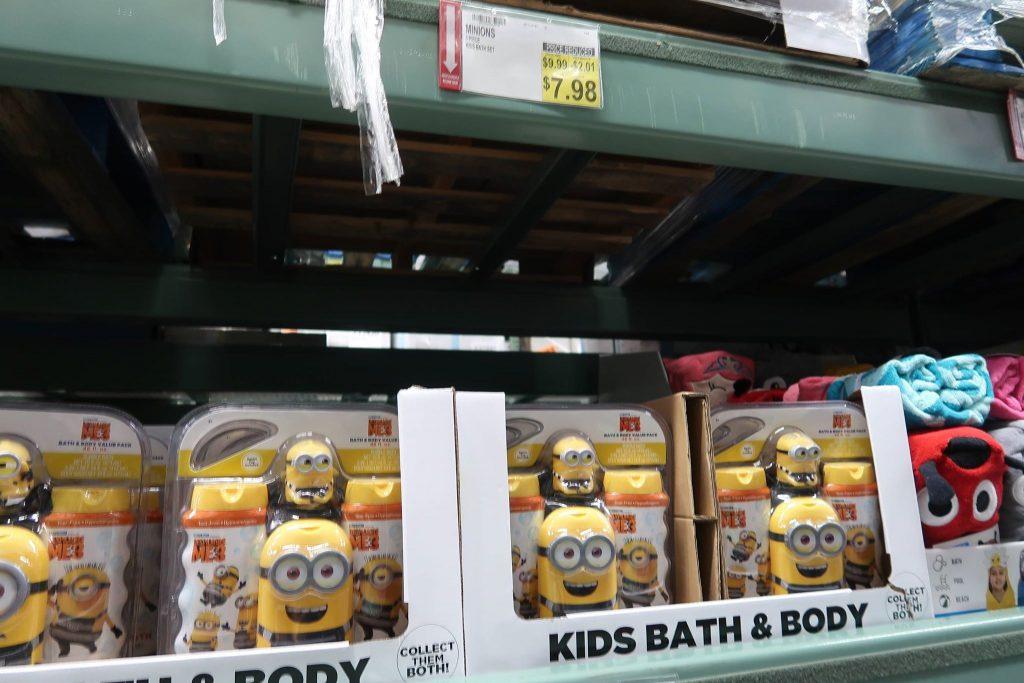 mybjswholesale minions kids bath set