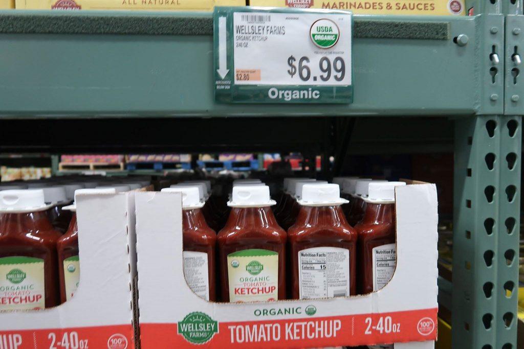 Wellsley Farms Organic Ketchup