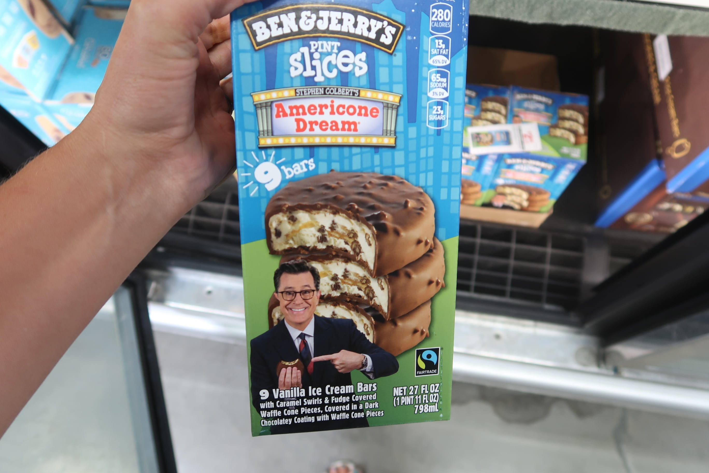 Ben Jerry S Pint Slices Only 1 68 Print Coupon Now My Bjs Wholesale Club Americone dream, chocolate chip cookie dough, chocolate fudge brownie, and vanilla peanut butter cup. ben jerry s pint slices only 1 68