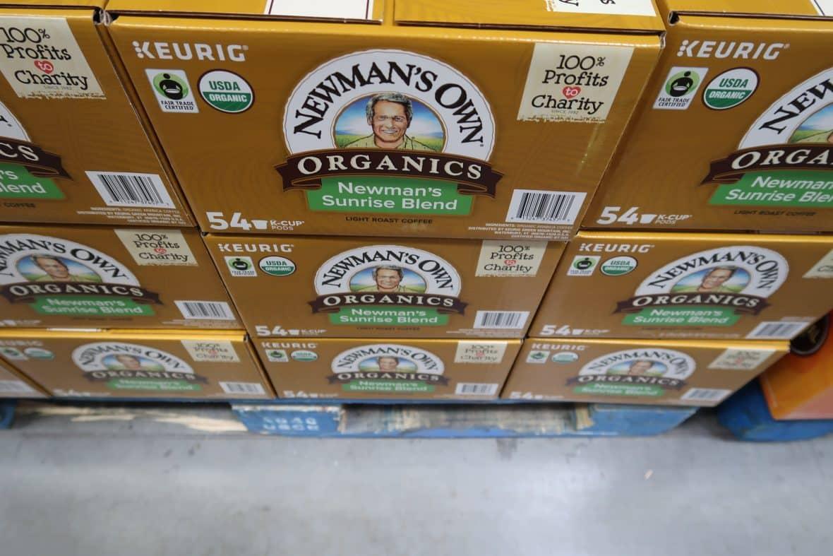 Newmans Own Organics Special Blend K Cups $31.99