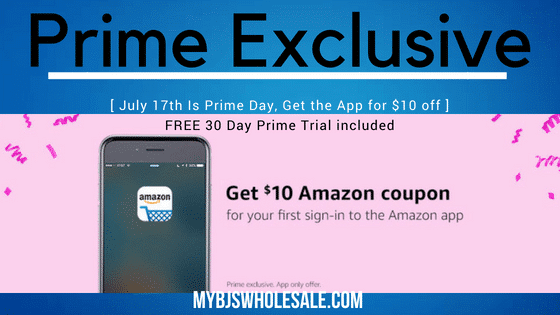 mybjswholesale amazon app coupon