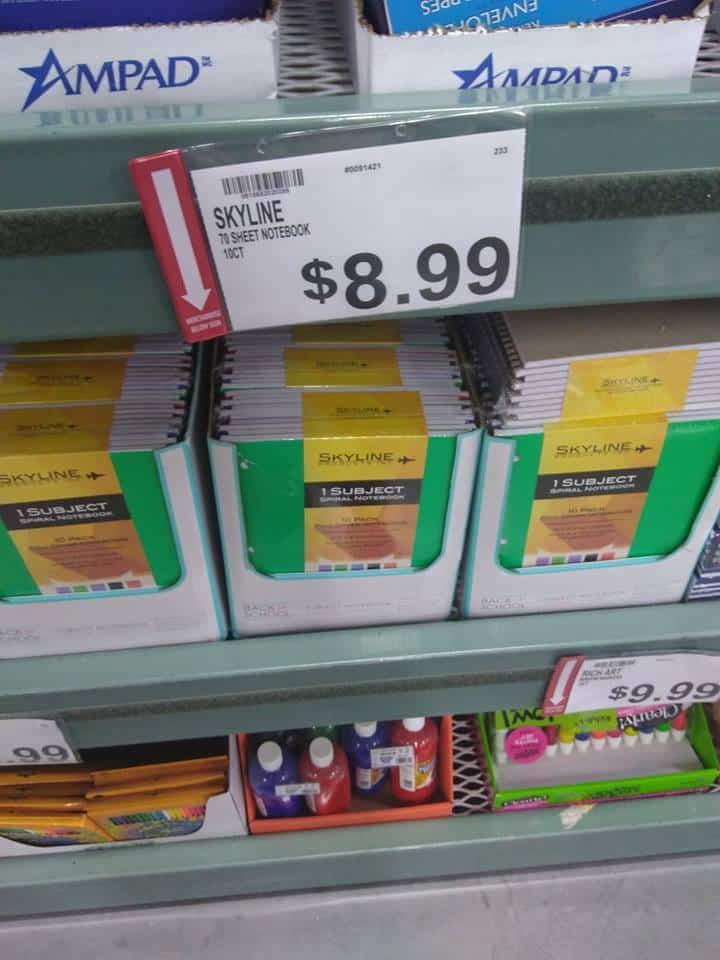 Skyline Notebooks Bjs