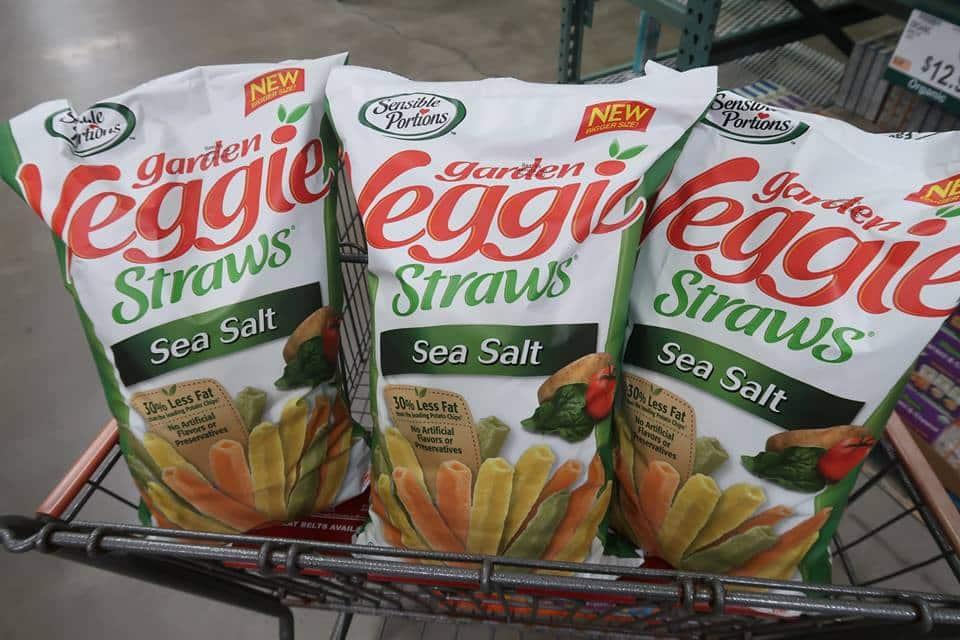 Garden Veggie Straws ONLY $3.99