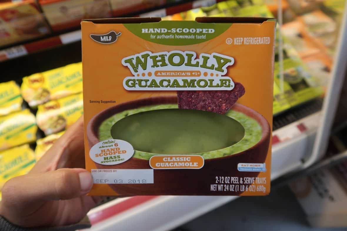 Only $4.99 for 2 Wholly Guacamole Trays