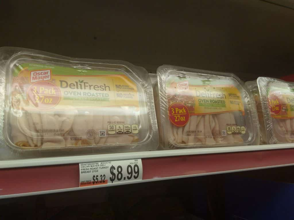 Print New Deli Fresh Lunch Meat Coupon 1 58 Ea My Bjs Wholesale Club