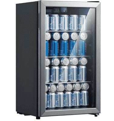 Emerson beverage fridge
