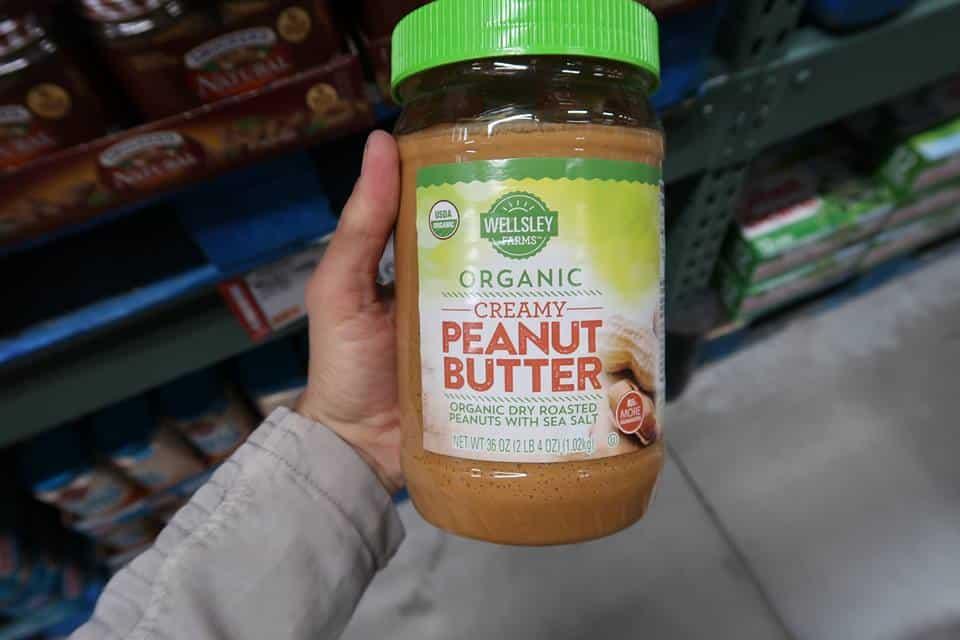 Organic Peanut Butter BJs