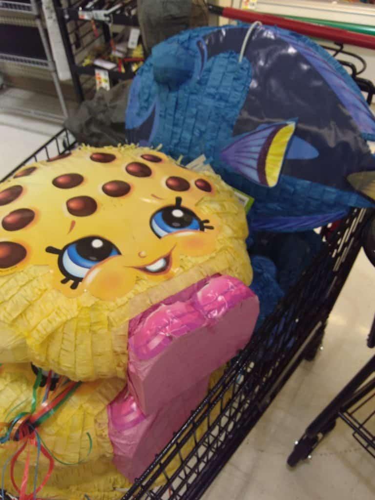 birthday pinatas deal at Tops markets
