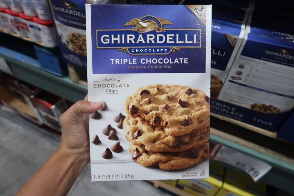 Ghirardelli Triple Chocolate Chip Cookies