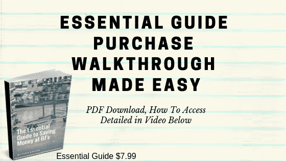 essential guide walkthrough