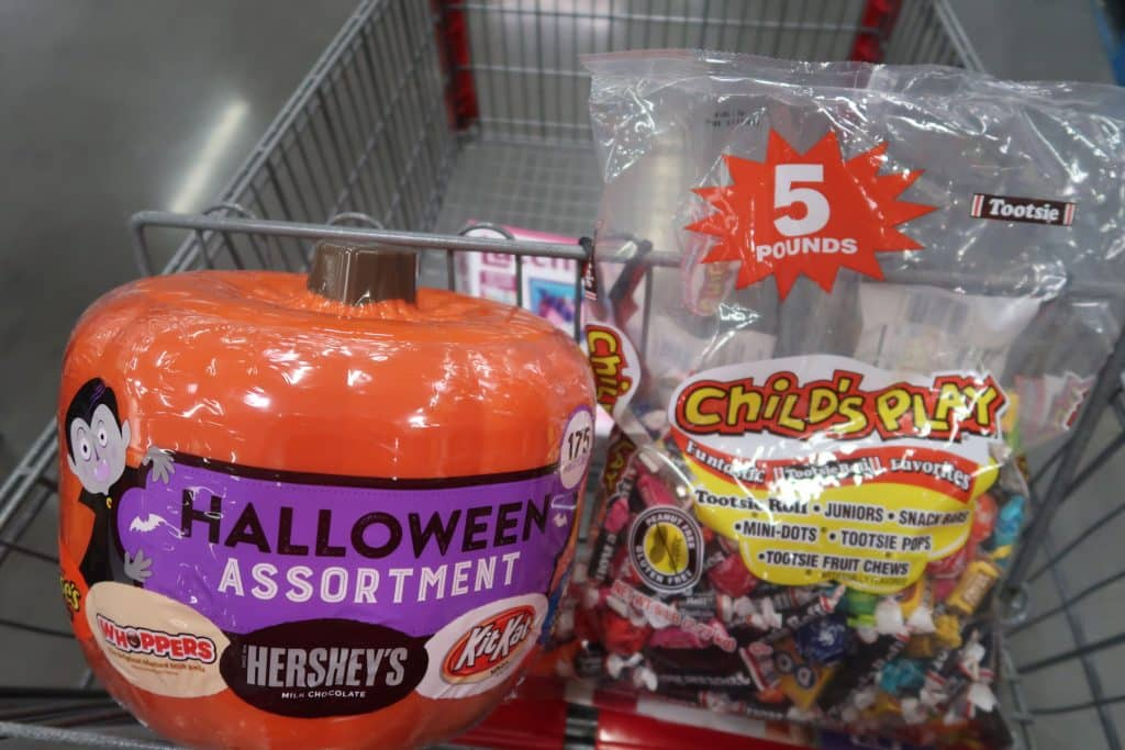 BJ's Halloween Candy