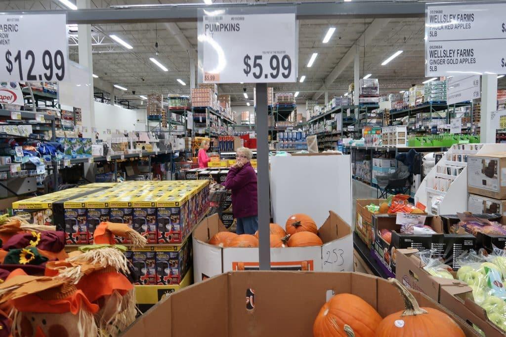 pumpkins at bjs wholesale club price