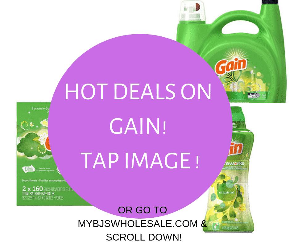 Amazing Deal on Gain Flings & Scent Beads + Turkey Promo!