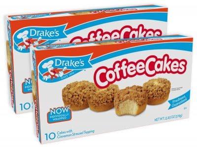 Drakes Coffee Cakes