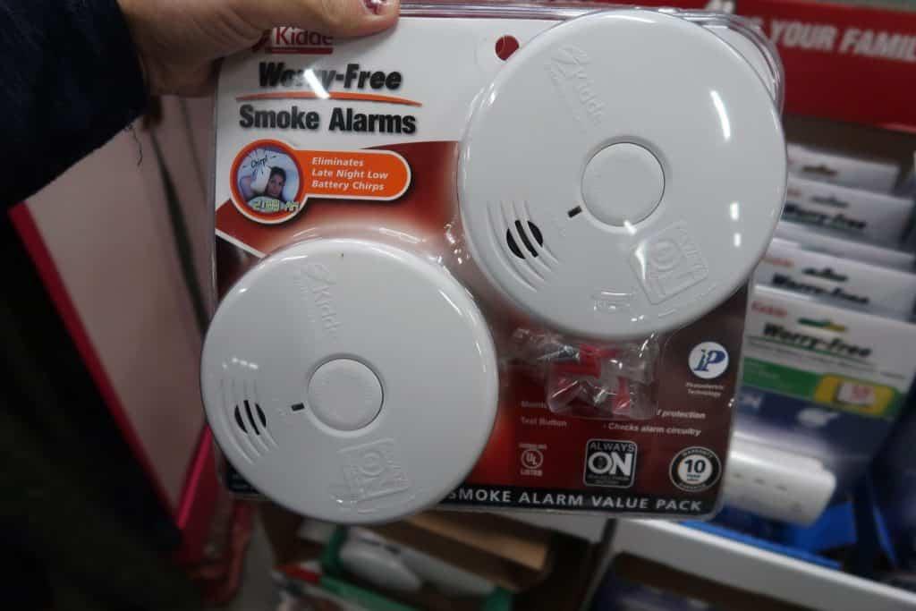 kiddie smoke alarms