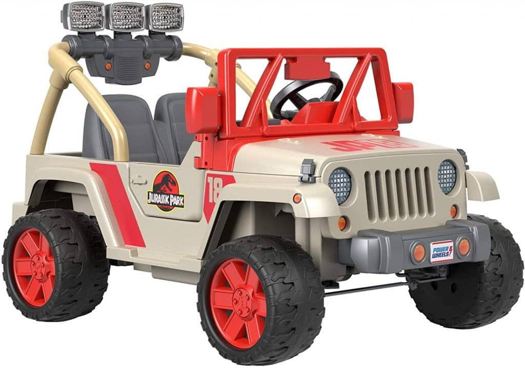 Amazon Jurassic Park Power Wheel