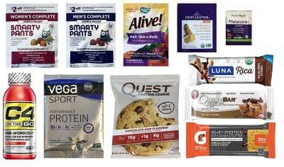 Amazon Nutrition & Wellness Sample Box