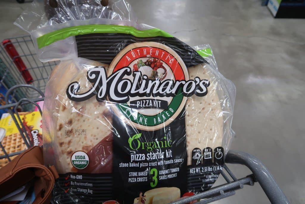 molinaro's pizza kit review from bjs wholesale club