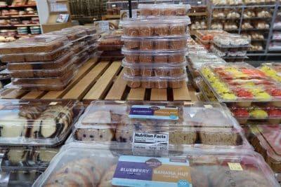 pumpkin bakery items at BJs wholesale club