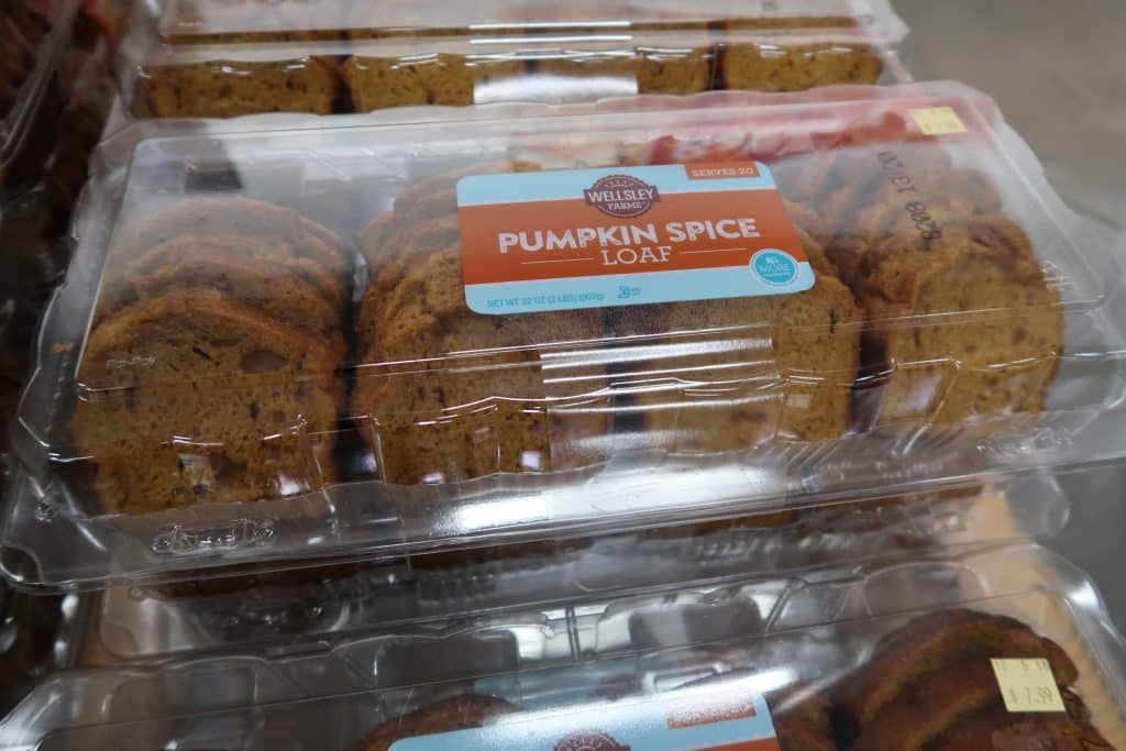 pumpkin spice loaf bjs wholesale club