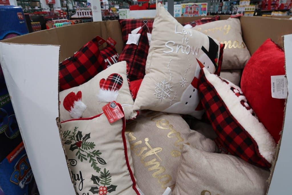 chrsitmas pillows at bjs wholesale club