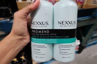 nexxus shampoo conditioenr deal at BJs wholesale club