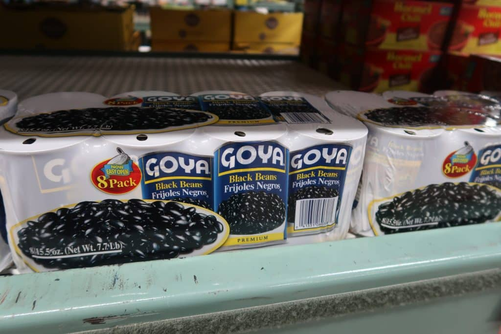 goya black beans at BJs wholesale club price and bjs coupons