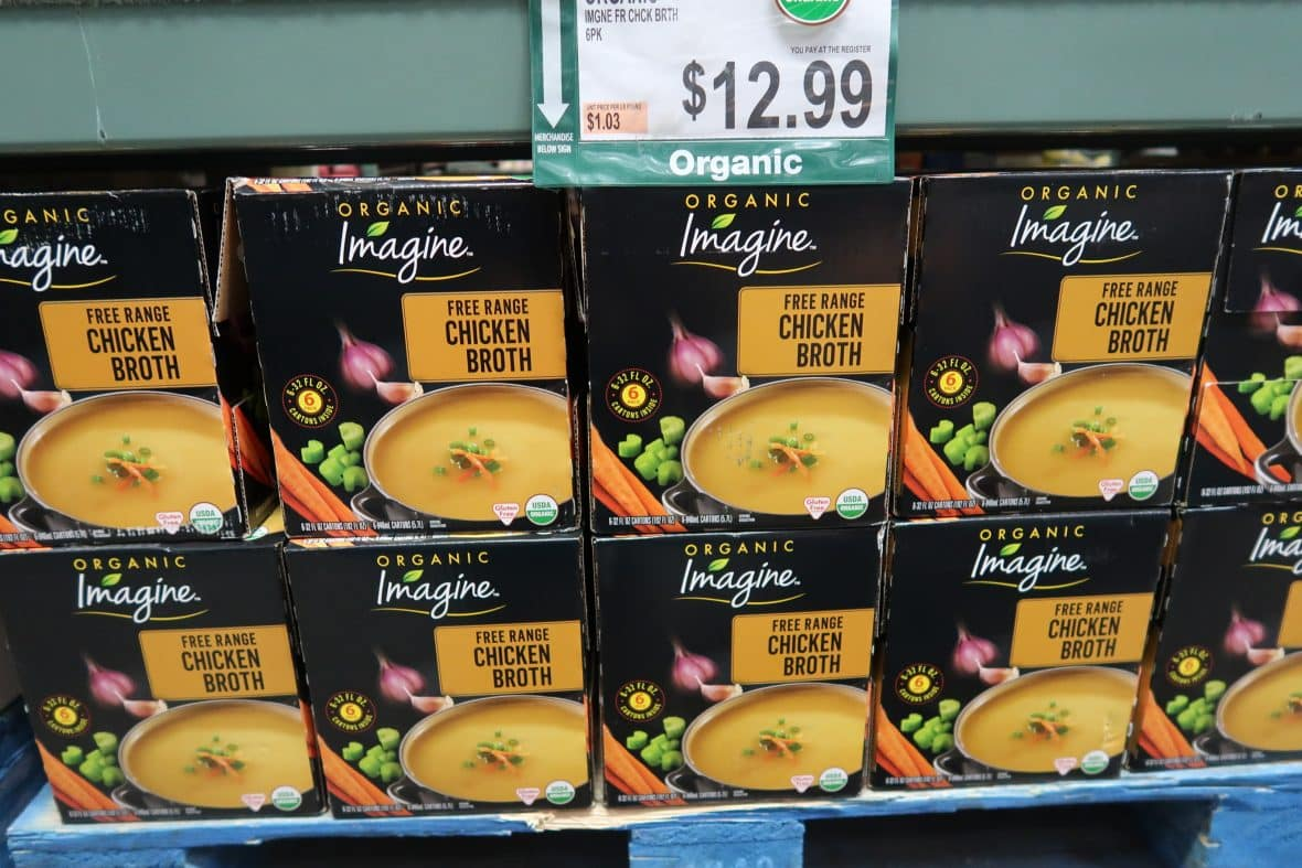 Organic Imagine Chicken Broth $1.91