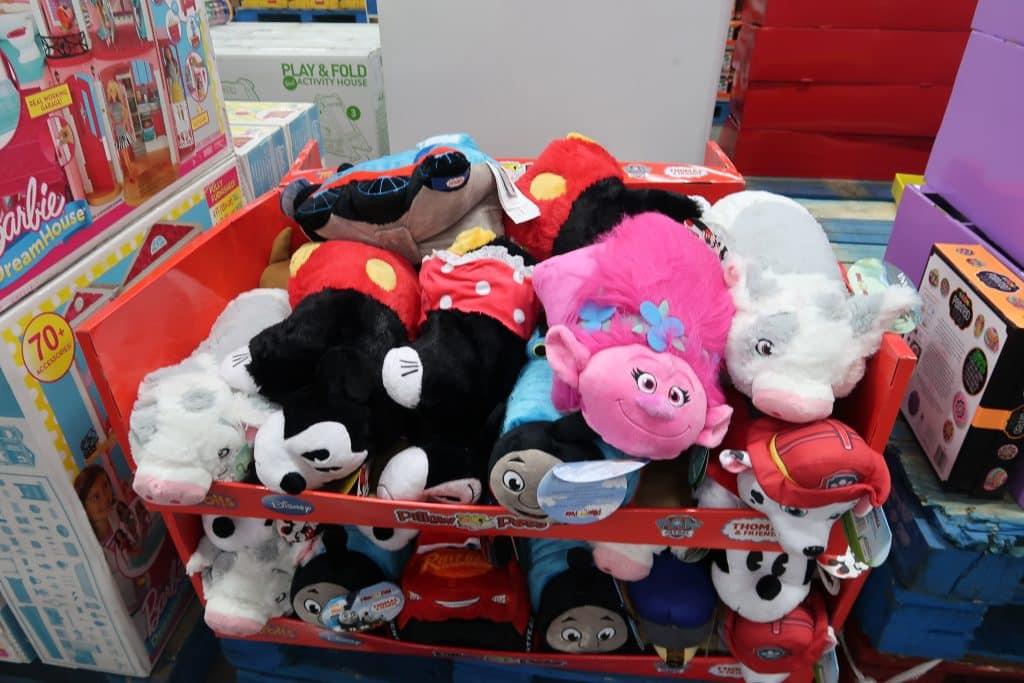 stuffed animals at BJs wholesale club toys