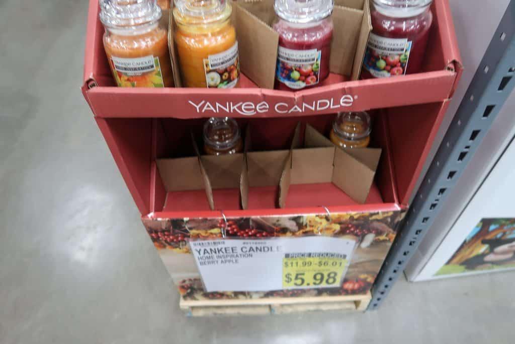 berry yanke candles